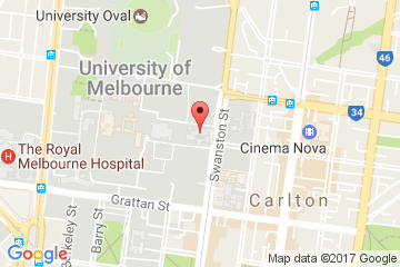 Peter Hall Building, The University of Melbourne Parkville, VIC 3010, Australia